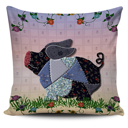 Pig flowers - Pillow covers