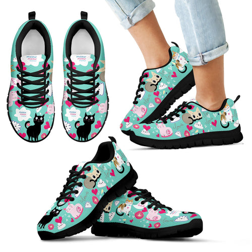 Cats Kids Sneakers