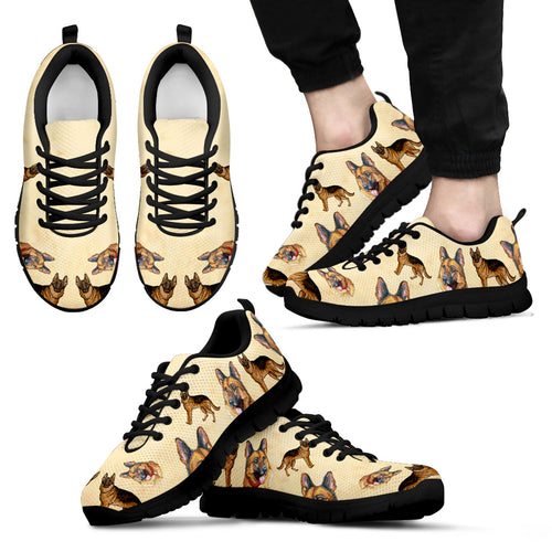 German Shepherd 02 - sneakers-women, men, kid