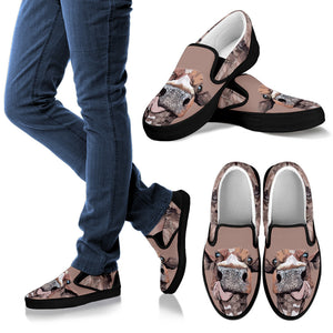 Slip ons for Men, Women & kid - Cow 04