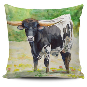Pillow Cover - cow painting style 01