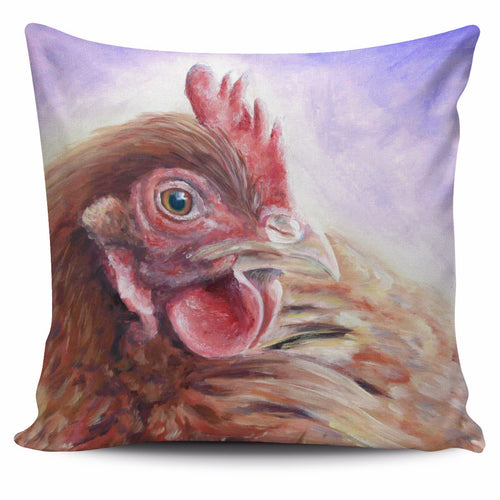 Chicken watercolor -p3-pillow case - Barnsmile.com-Barnsmile.com-shirt, tees, clothings, accessories, shoes, home decor