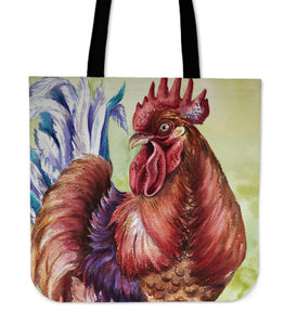 chicken painting-11-tote bag