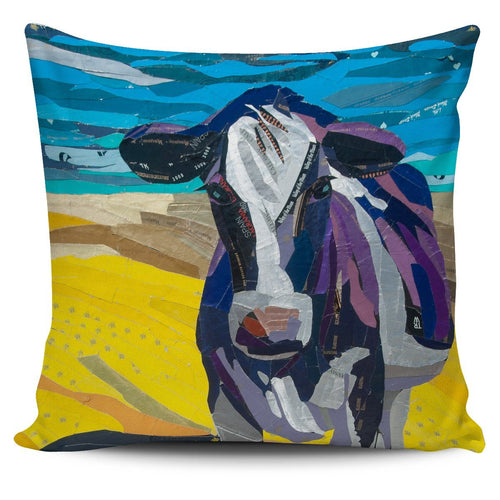 Pillow Cover - cow painting style 15