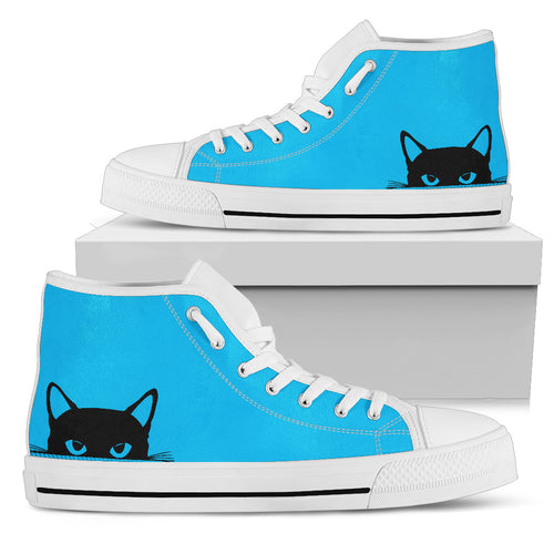 Cat Women High Top Shoes