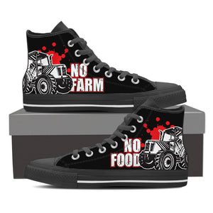 No Farm No Food - canvas shoes