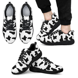 Athletic sneaker cow 03