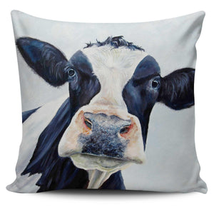 Pillow Cover - cow painting style 6