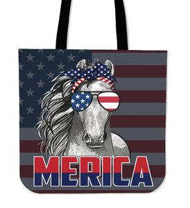 Patriot Horse - tote bag