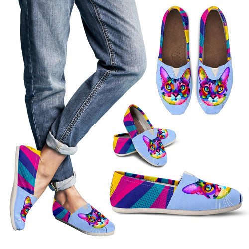 Women's Casual Shoes - Cat colorful