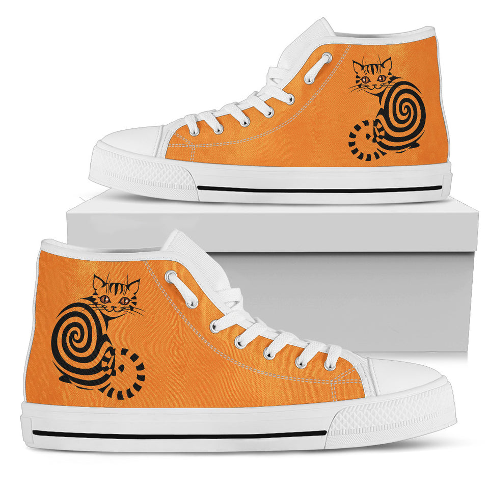 Cat Art Women High Top Shoes