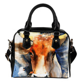 Cow painting-p7-handbag - Barnsmile.com-Barnsmile.com-shirt, tees, clothings, accessories, shoes, home decor