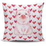 Pillow Cover - pig cute