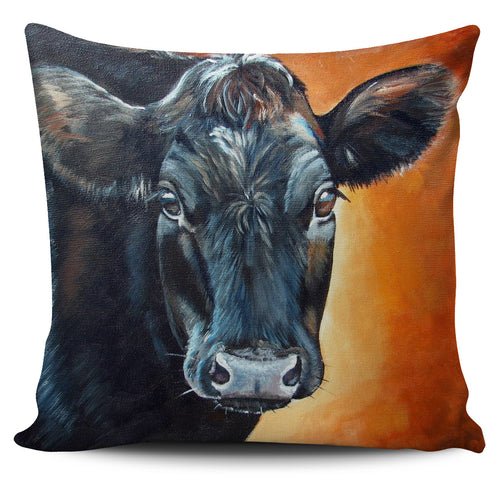 Pillow Cover - cute black