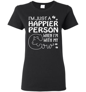 i'm just a happier person when..