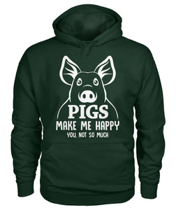 Pigs make me happy  you , not so much - Barnsmile.com-Barnsmile.com-shirt, tees, clothings, accessories, shoes, home decor