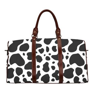 cow skin Waterproof Travel Bag/Small (Model 1639)