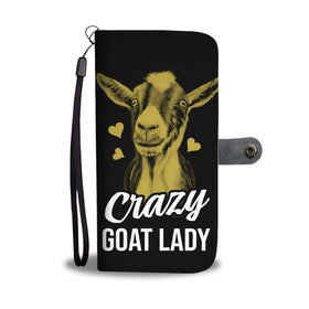 Home Decor For Goat Lovers. Crazy Goat Wallet Case Phone