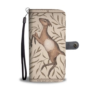 Goat-card wallet case phone