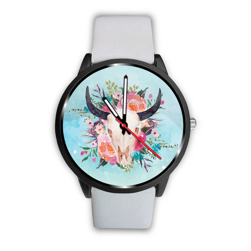 Skull cow watch