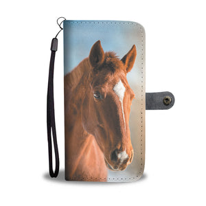 Horse 15 - wallet case phone