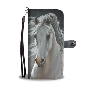 Horse 20 - wallet case phone