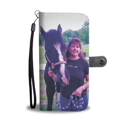 Design by Kelly Vasto - Wallet case phone-horse