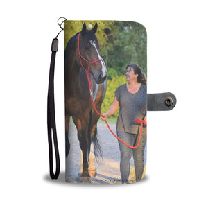 Photo by Heather McCulloch - Wallet case phone-horse
