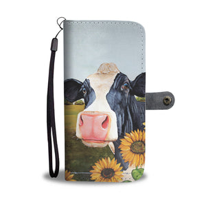 Wallet case phone for cow lovers sk27