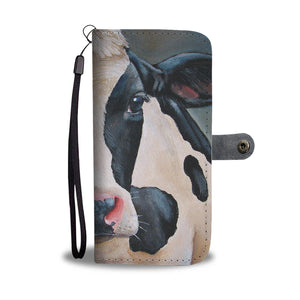 Wallet case phone for cow lovers sk30