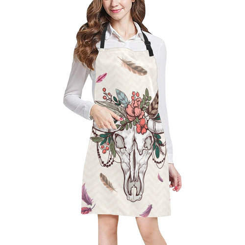 cow All Over Print Apron 04