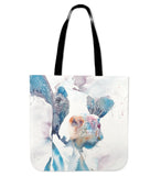 cow painting -p2 - tote bag - Barnsmile.com-Barnsmile.com-shirt, tees, clothings, accessories, shoes, home decor