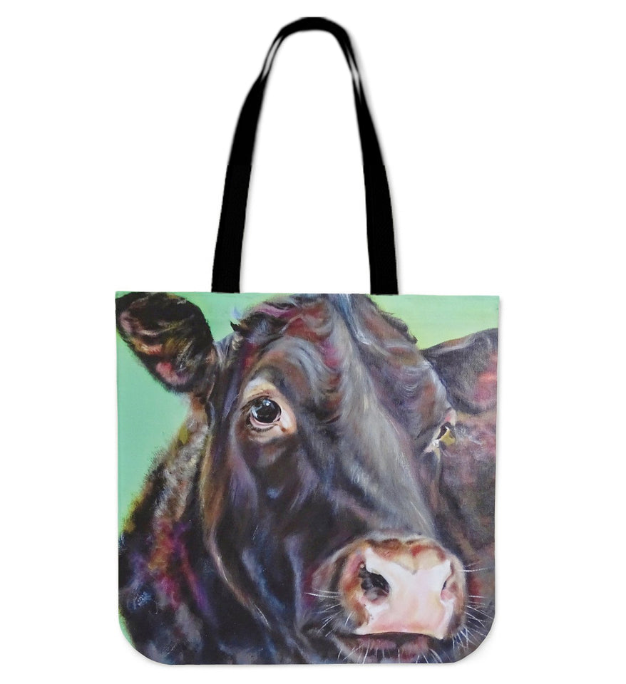 BLACK PAINTING-P1- tote bag