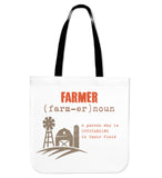 farmer-tote bag