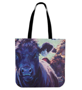 BLACK PAINTING -P3- tote bag