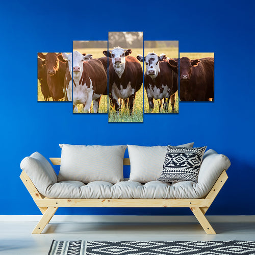 Wall Art 5pcs - Cow Lovers 01