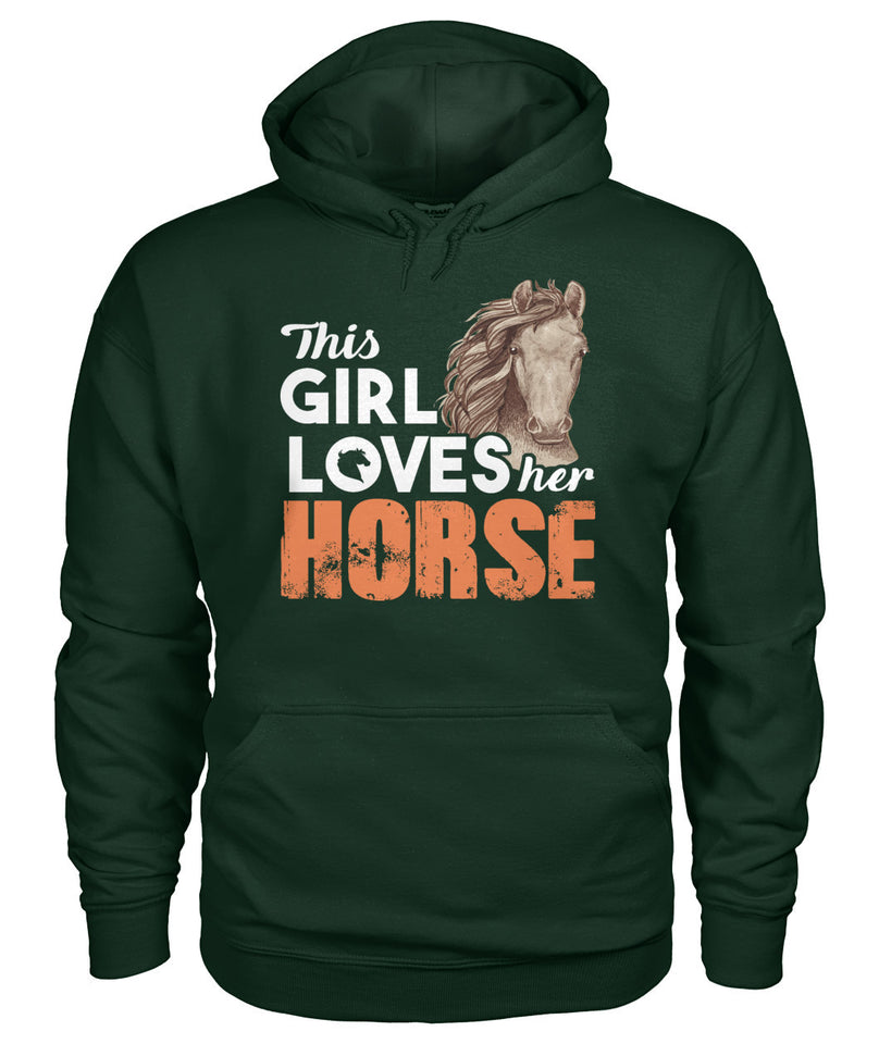 This girl love her horse - Barnsmile.com-Barnsmile.com-shirt, tees, clothings, accessories, shoes, home decor