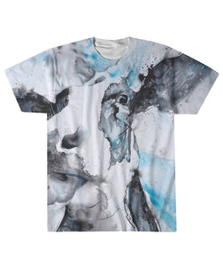 watercolor Cow  - full shirt
