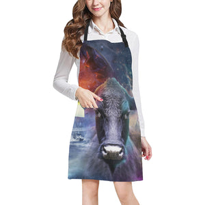 cow All Over Print Apron 23
