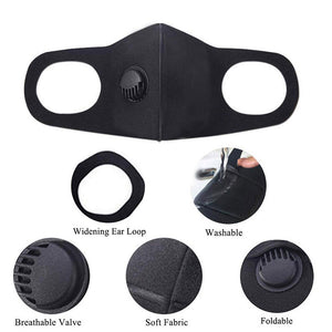 Face mask active carbon filters PM2.5
