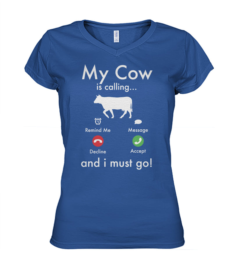 My cow is calling...