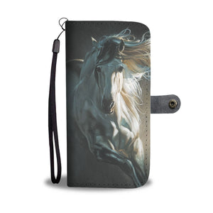 Horse 1 - wallet case phone