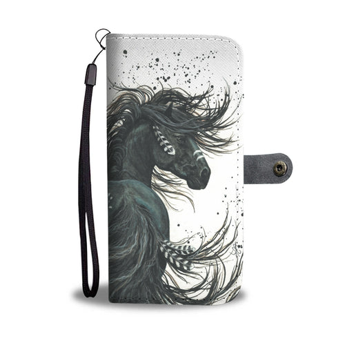 Horse 8 - wallet case phone