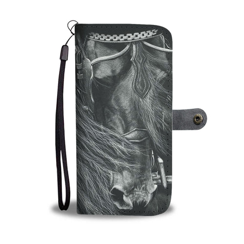 Horse 9 - wallet case phone