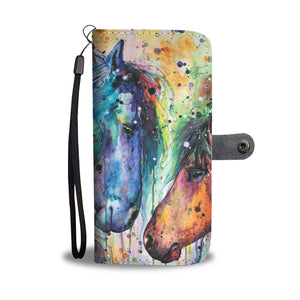 Horse 11 - wallet case phone