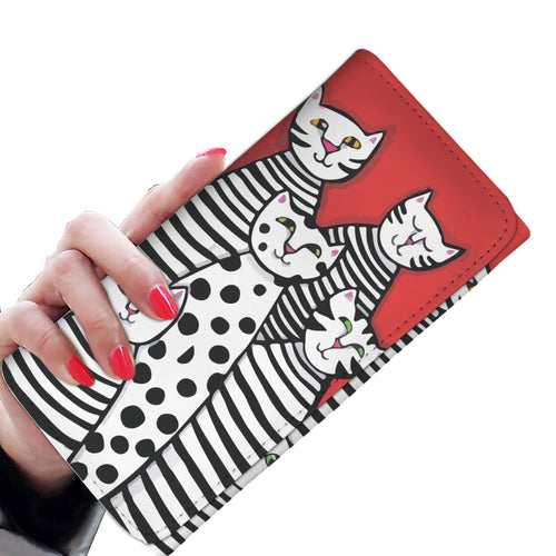 Cat lover - womens wallet