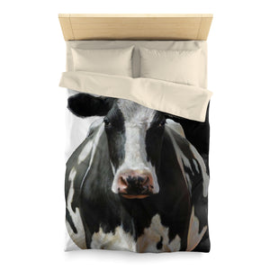 Microfiber Duvet Cover for Cow Lovers 07