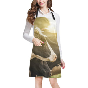 cow All Over Print Apron 08