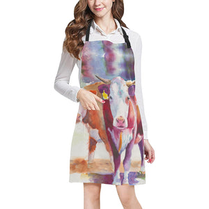 cow All Over Print Apron 30