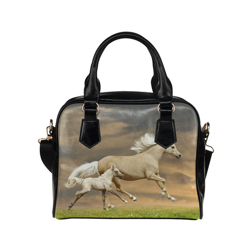 Horse 09 Shoulder Handbag (Model 1634)